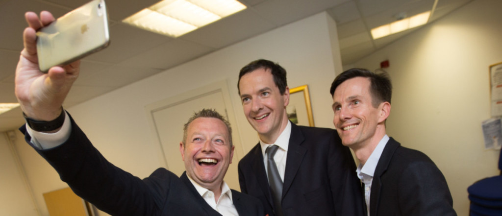 Zeal Creative meet George Osbourne