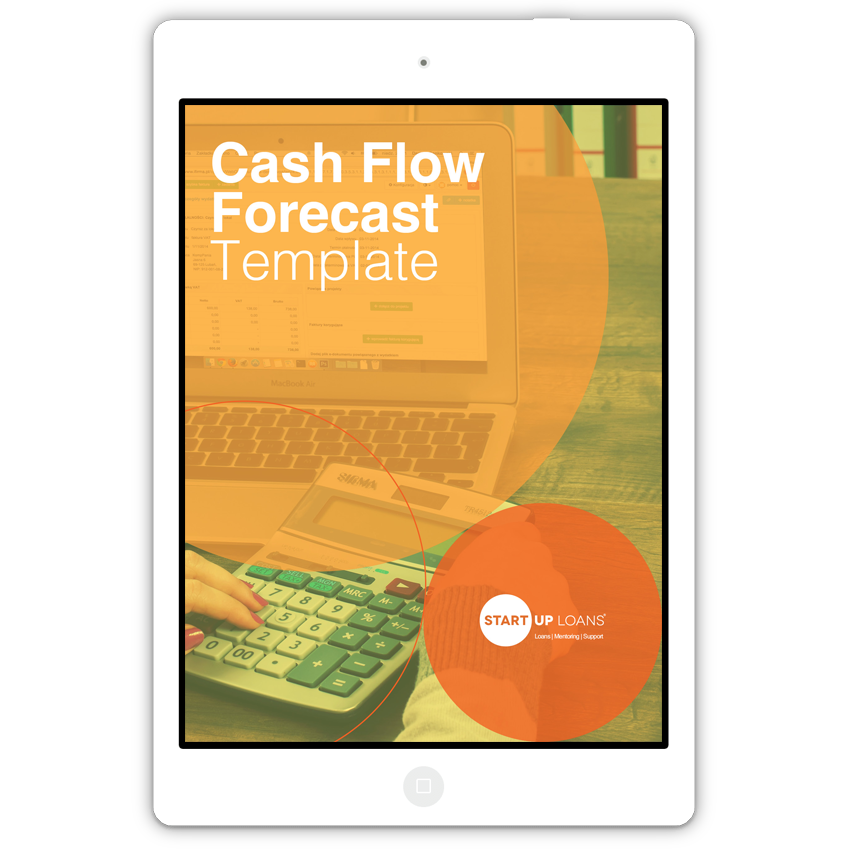 Cash flow forecast template