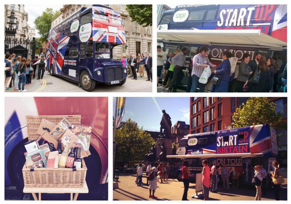Start Up bus tour 2015