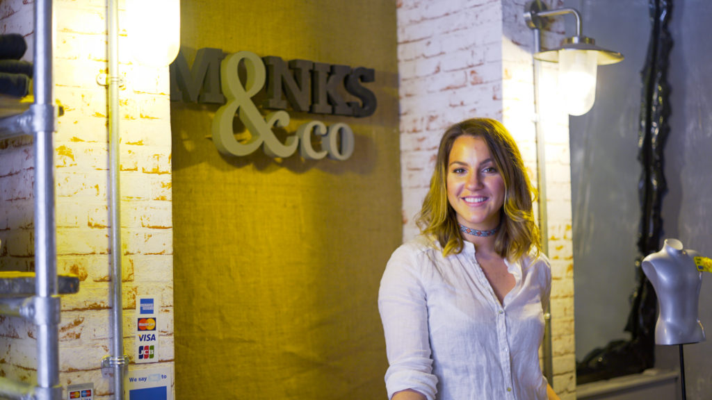Amy Barker, founder of Monks and Co