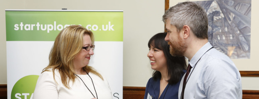 Start Up Loans ambassadors Sara Roberts, Lauren Taylor and Mark Taylor