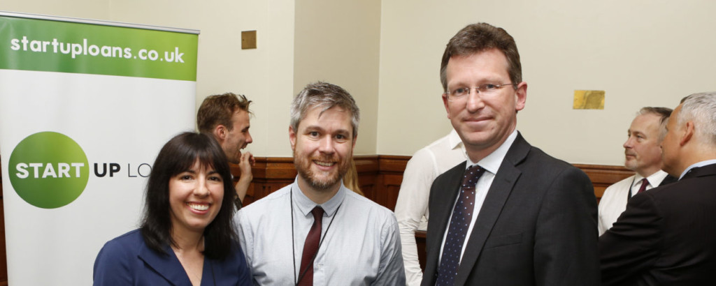 Kokoso Baby founders Mark and Lauren Taylor at Start Up Loans Ambassador launch at Westminster