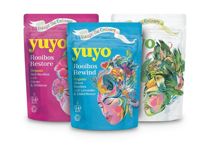 Yuyo branded packaging