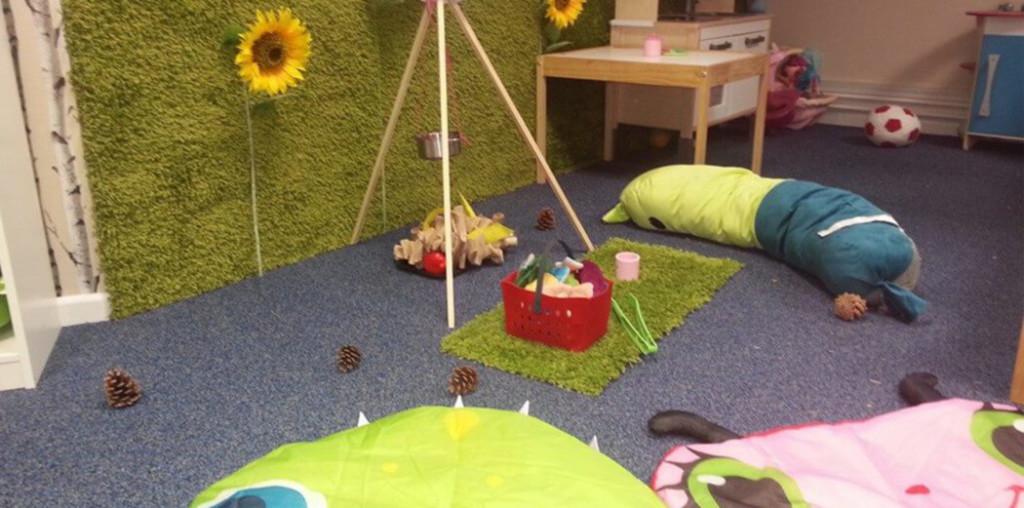 cherry tree nursery play area