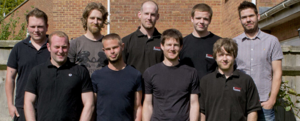 simon finch and some of the finch installations team