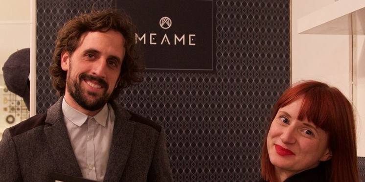 Megan Aylot and Stephen Azancot, founders of Meame