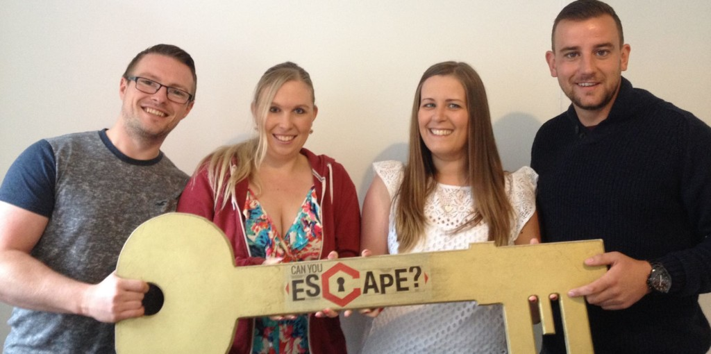 Players of Can You Escape escape room experience