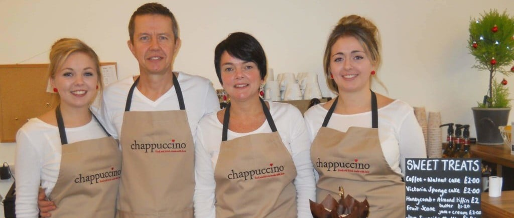 The team at Chappuccino cafe