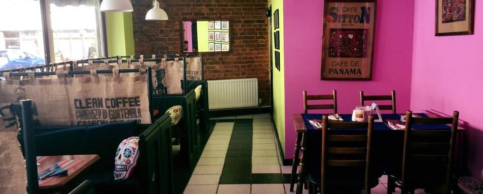 interior of Panama Joes restaurant