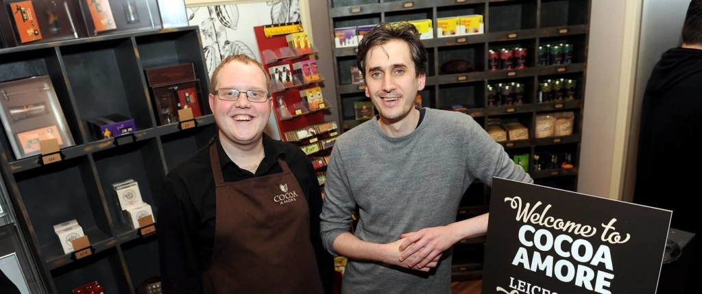 peter gardner at Cocoa-Amore-launch-event