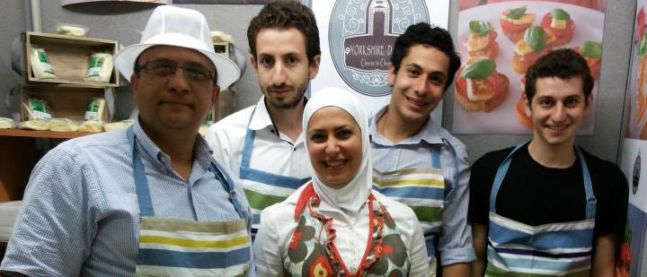 razan-alsous and the Yorkshire Dama Cheese team