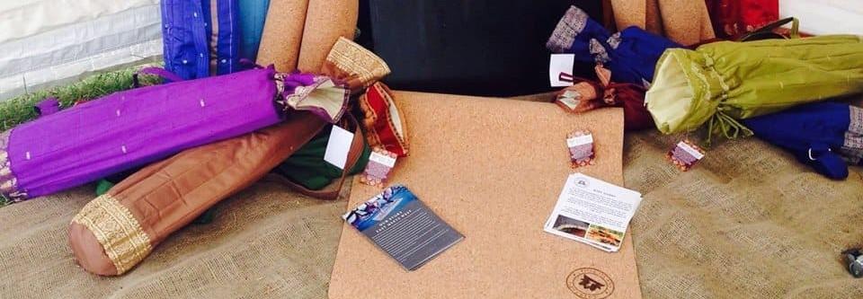 CorkYogis mats and bags