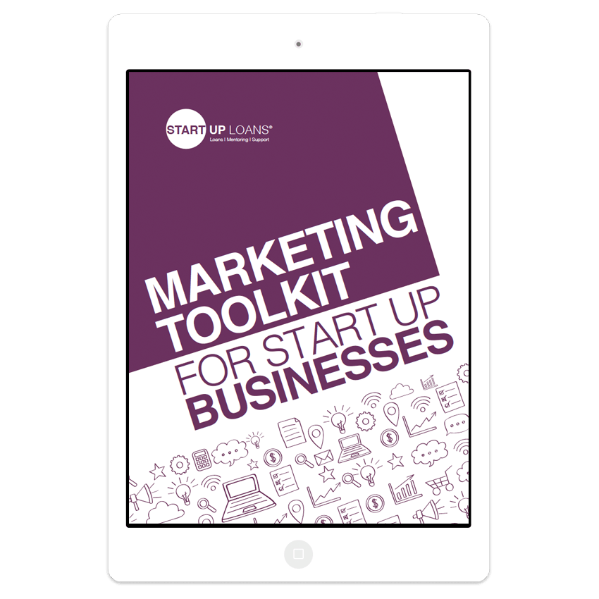 Marketing Toolkit for Start up Businesses on iPad