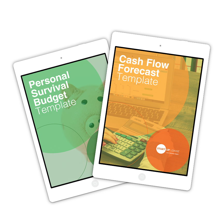 Personal Survival Budget Template and Cash Flow Forecast Template