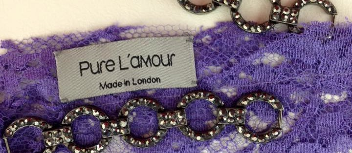 Pure Lamour label