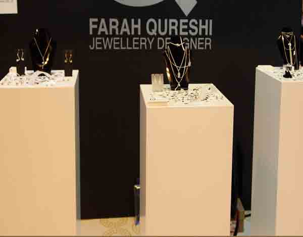 Farah Qureshi jewellery designer