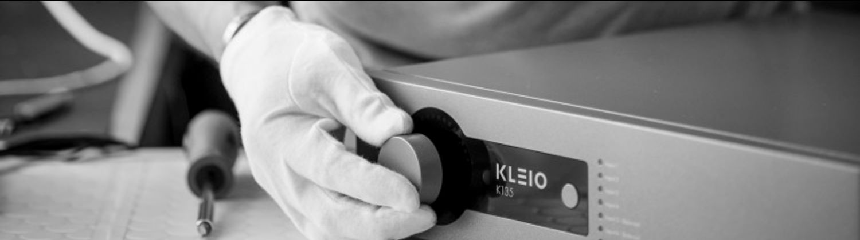 A Kleio Audio Amplifier