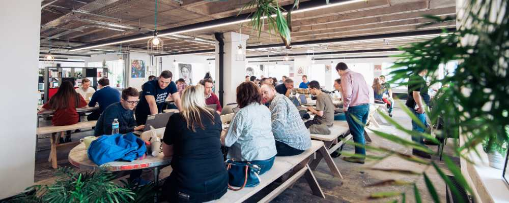 Launchpad Labs - Launch22 - benches - coworking