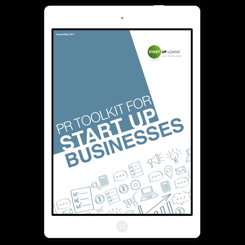 Free PR Toolkit | Start Up Loans