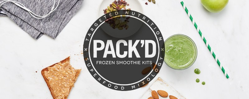 Pack'd frozen smoothie kits
