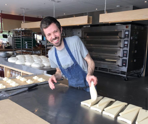 Lance who set up a family bakery, Ty Melin