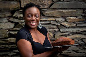 Elaine Rémy of Vie's Jamaican Rum Cakes, a Windermere business