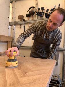 A man working in a workshop