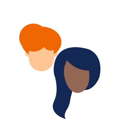 icon of man and woman